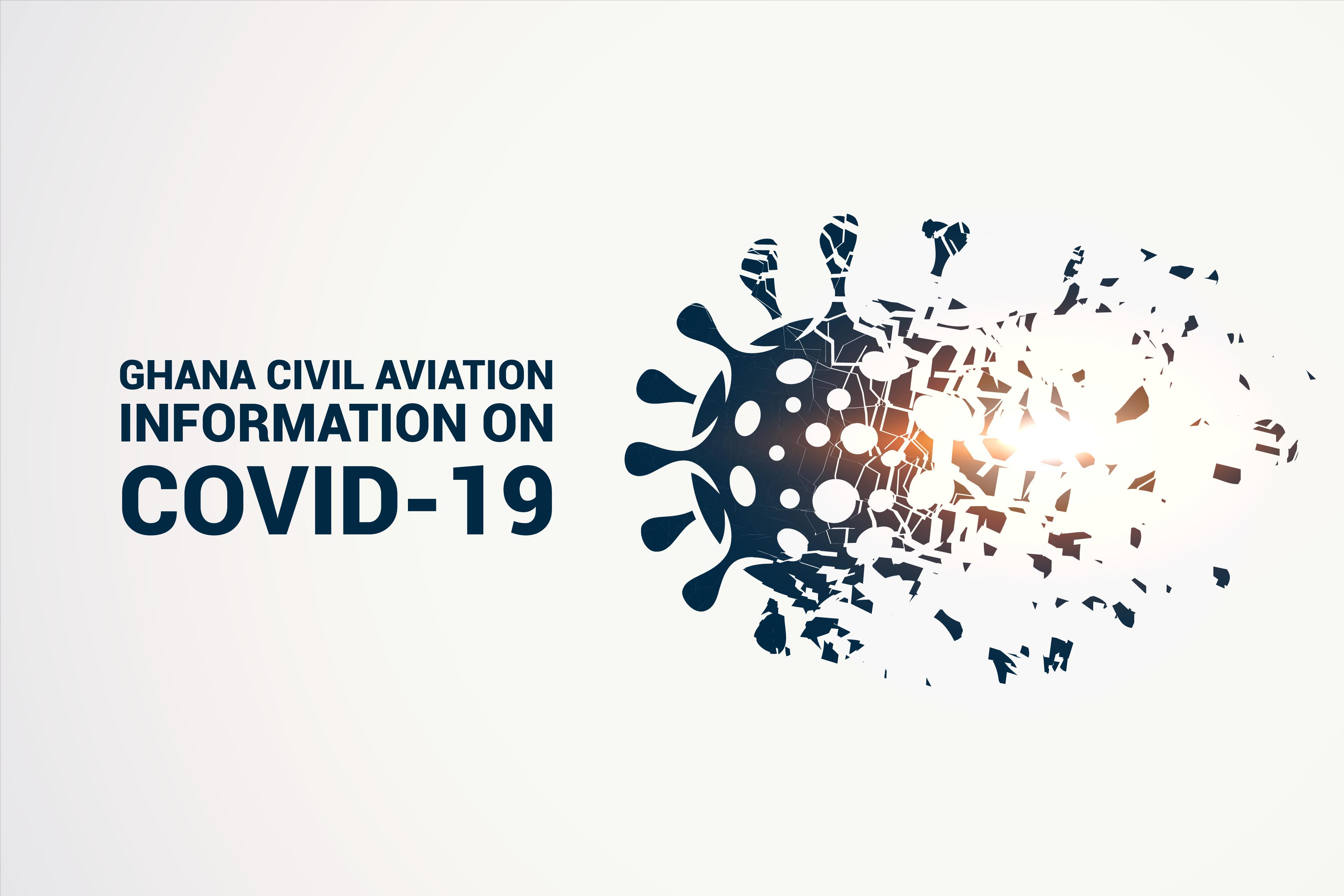 GHANA CIVIL AVIATION INFORMATION ON COVID 19
